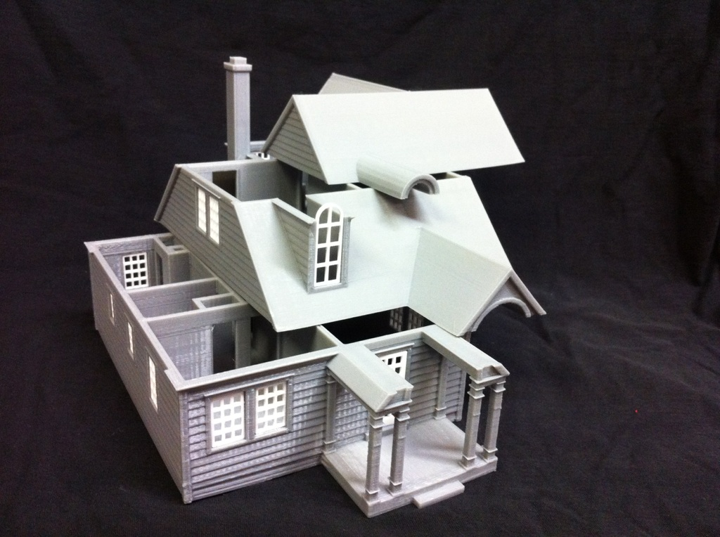 Architectural model home kits
