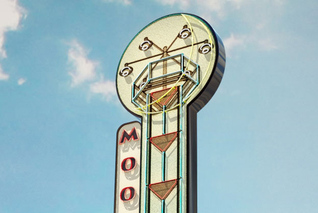 Moontower Saloon – Sign Concept